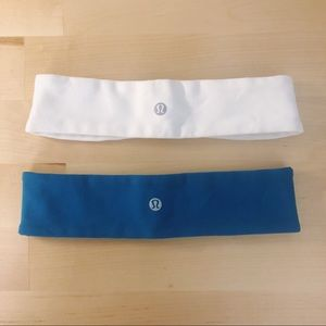 Fly Away Tamer Lululemon headbands - set of 2